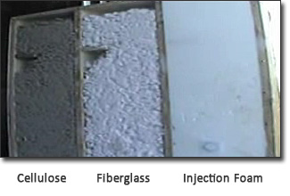 Alternative Construction Concepts - Bend Oregon - Compare other types if Insulation to Injection Foam